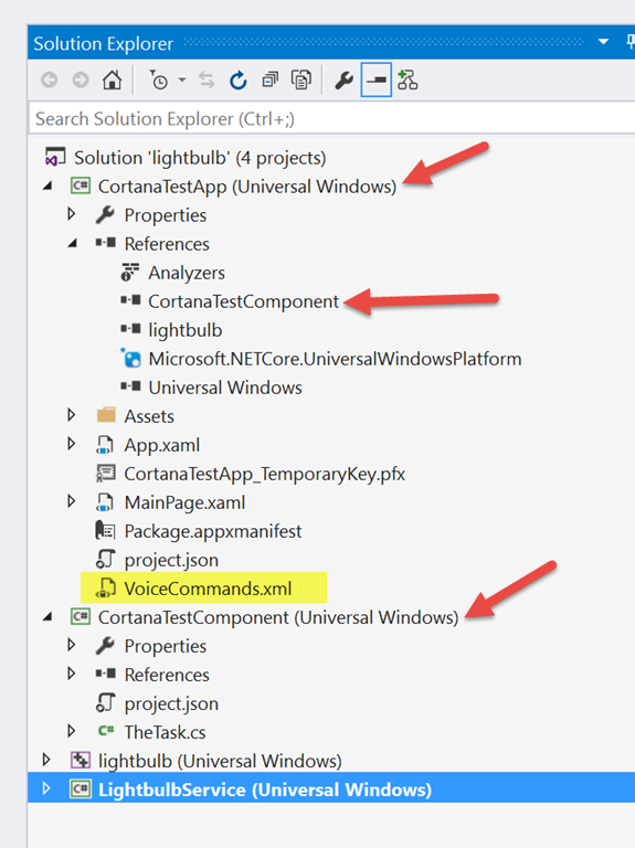 windows runtime component to host my background task i made the uwp app reference the component project so that the bits get copied over at build time