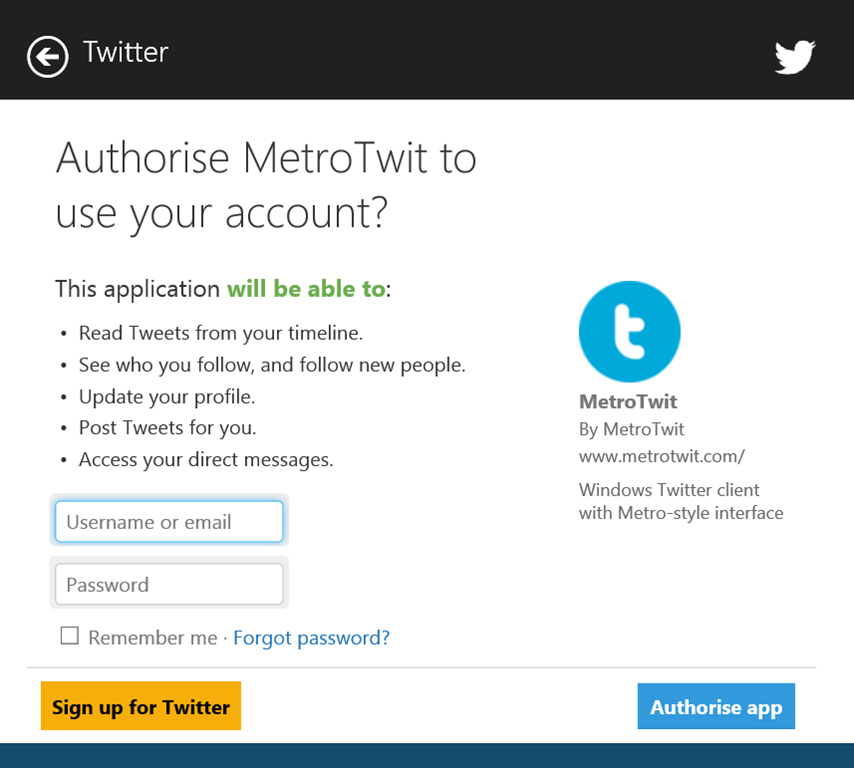 Windows 8 1 Preview: Web Authentication Broker – Mike Taulty