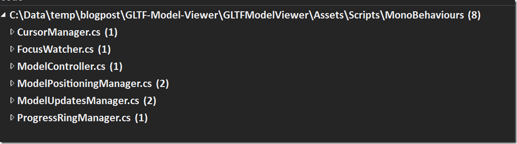 "Rough Notes on Porting ""glTF Viewer"" from Mixed Reality Toolkit"