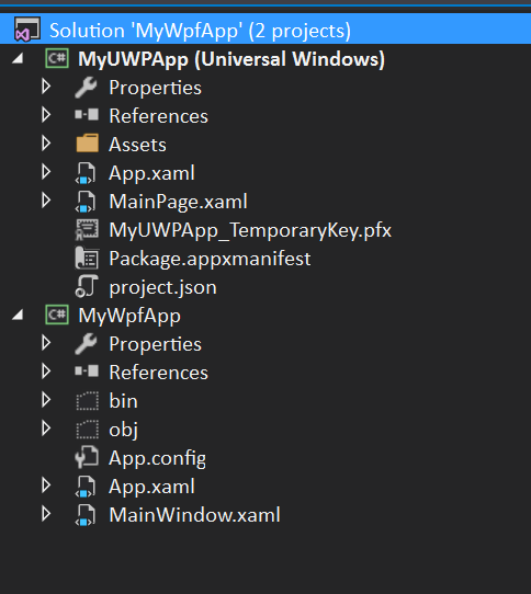 Windows 10 1607, UWP Apps Packaged with 'Companion' Desktop