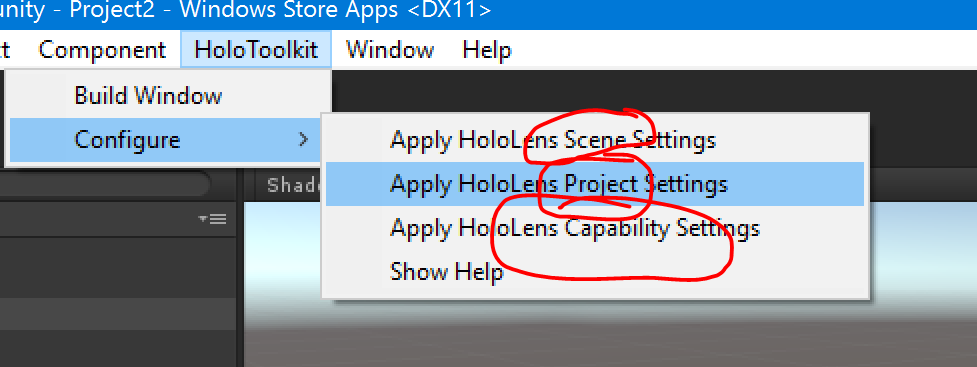 Hitchhiking the HoloToolkit-Unity, Leg 5–Baby Steps with